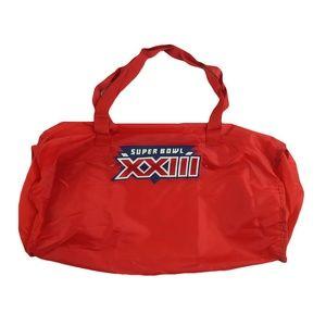 Vintage 1988 NFL Super Bowl XXIII Small Gym Bag